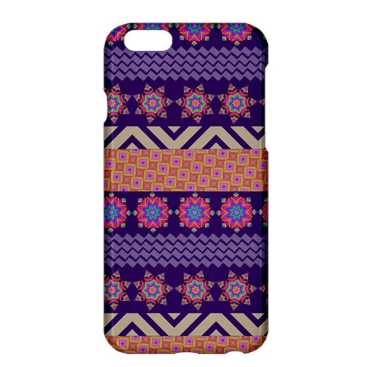 Colorful Winter Pattern Apple iPhone 6 Plus/6S Plus Hardshell Case