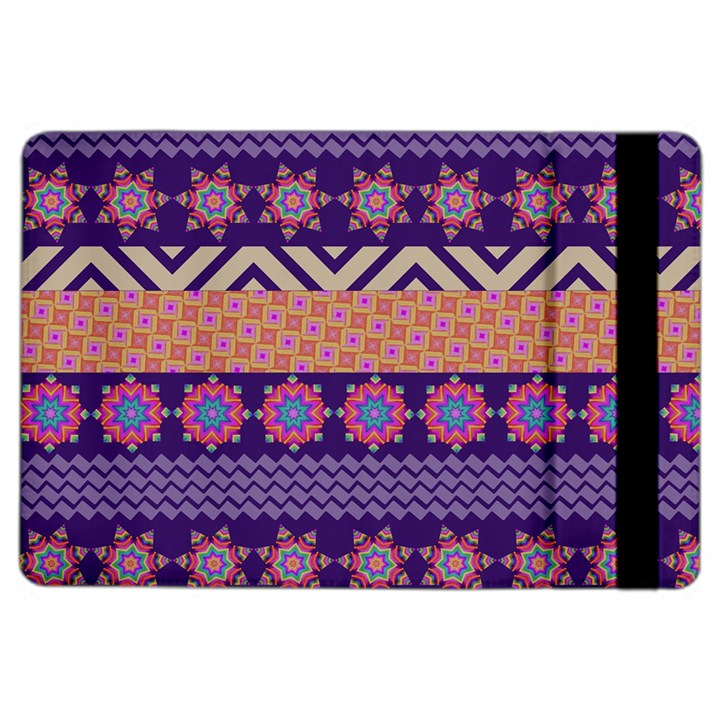 Colorful Winter Pattern iPad Air 2 Flip