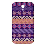 Colorful Winter Pattern Samsung Galaxy Mega I9200 Hardshell Back Case Front