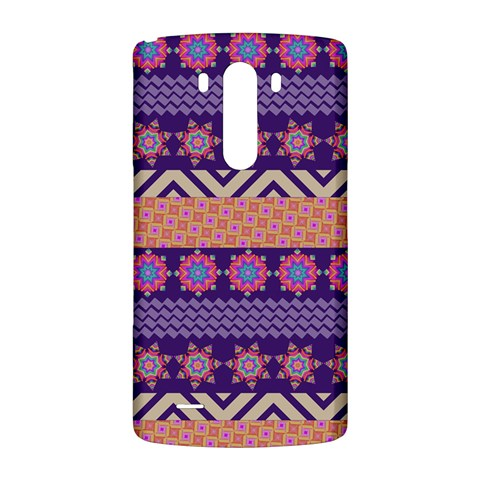 Colorful Winter Pattern LG G3 Back Case