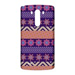Colorful Winter Pattern LG G3 Back Case Front