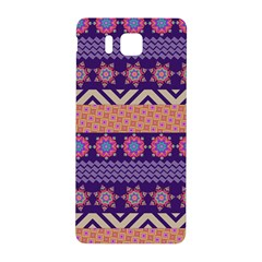 Colorful Winter Pattern Samsung Galaxy Alpha Hardshell Back Case