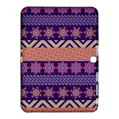 Colorful Winter Pattern Samsung Galaxy Tab 4 (10 1 ) Hardshell Case