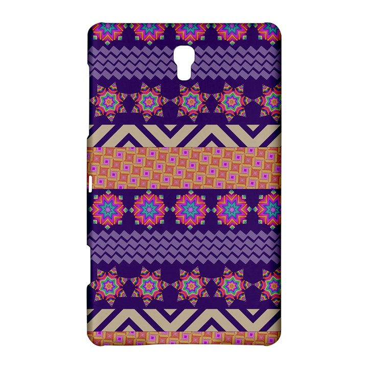 Colorful Winter Pattern Samsung Galaxy Tab S (8.4 ) Hardshell Case