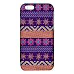Colorful Winter Pattern iPhone 6/6S TPU Case Front