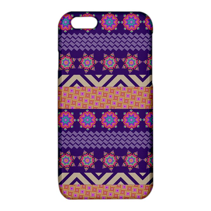 Colorful Winter Pattern iPhone 6/6S TPU Case