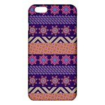 Colorful Winter Pattern iPhone 6 Plus/6S Plus TPU Case Front