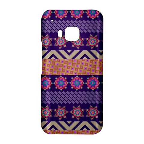 Colorful Winter Pattern HTC One M9 Hardshell Case