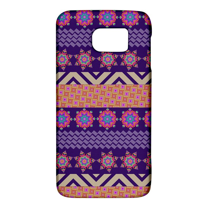 Colorful Winter Pattern Galaxy S6