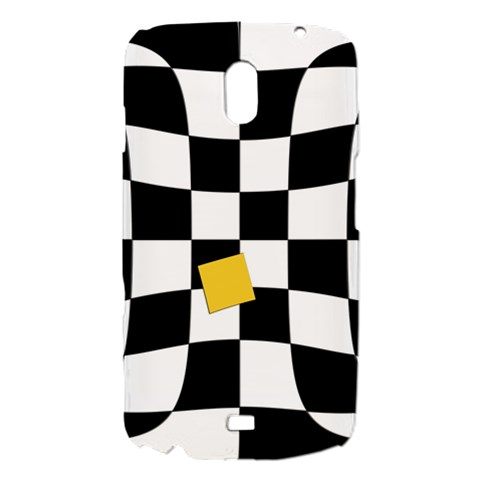 Dropout Yellow Black And White Distorted Check Samsung Galaxy Nexus i9250 Hardshell Case