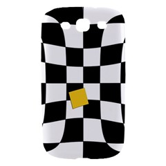 Dropout Yellow Black And White Distorted Check Samsung Galaxy S III Hardshell Case