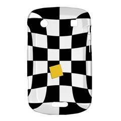 Dropout Yellow Black And White Distorted Check Bold Touch 9900 9930