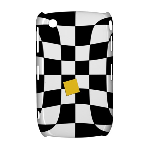 Dropout Yellow Black And White Distorted Check Curve 8520 9300