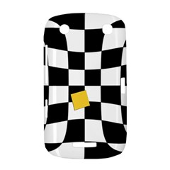 Dropout Yellow Black And White Distorted Check BlackBerry Curve 9380
