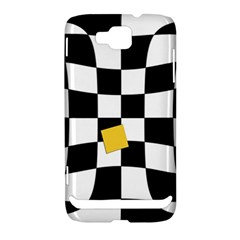 Dropout Yellow Black And White Distorted Check Samsung Ativ S i8750 Hardshell Case