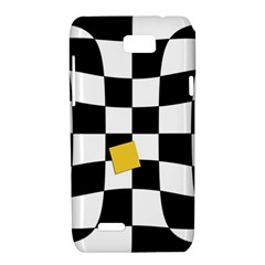 Dropout Yellow Black And White Distorted Check Motorola XT788