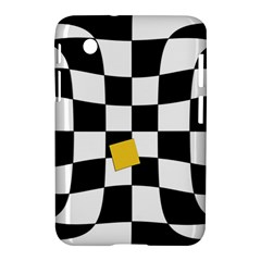 Dropout Yellow Black And White Distorted Check Samsung Galaxy Tab 2 (7 ) P3100 Hardshell Case