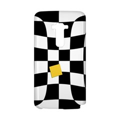 Dropout Yellow Black And White Distorted Check LG G Flex