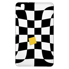 Dropout Yellow Black And White Distorted Check Samsung Galaxy Tab Pro 8 4 Hardshell Case