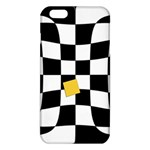 Dropout Yellow Black And White Distorted Check iPhone 6 Plus/6S Plus TPU Case Front