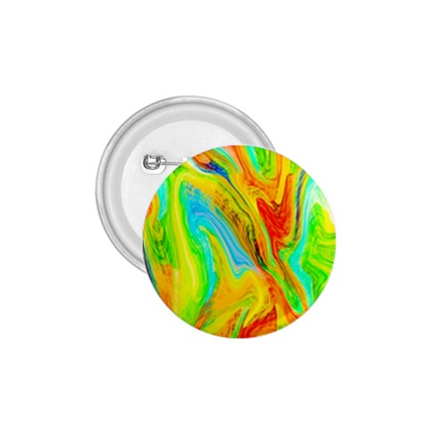 Happy Multicolor Painting 1.75  Buttons