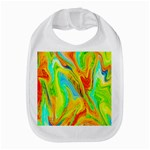 Happy Multicolor Painting Bib Front