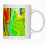 Happy Multicolor Painting White Mugs Right