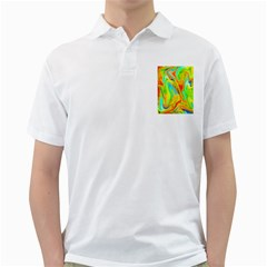 Happy Multicolor Painting Golf Shirts