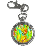 Happy Multicolor Painting Key Chain Watches Front