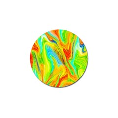 Happy Multicolor Painting Golf Ball Marker (10 Pack)