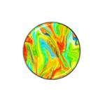 Happy Multicolor Painting Hat Clip Ball Marker (4 pack) Front