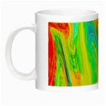 Happy Multicolor Painting Night Luminous Mugs Left