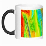Happy Multicolor Painting Morph Mugs Left