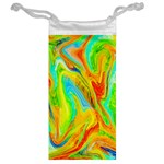 Happy Multicolor Painting Jewelry Bags Back