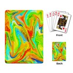 Happy Multicolor Painting Playing Card Back