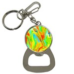 Happy Multicolor Painting Bottle Opener Key Chains Front