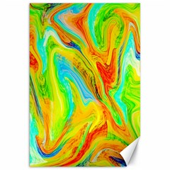 Happy Multicolor Painting Canvas 20  X 30