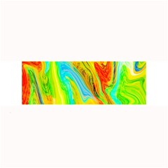 Happy Multicolor Painting Large Bar Mats