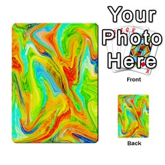 Happy Multicolor Painting Multi Purpose Cards (rectangle)