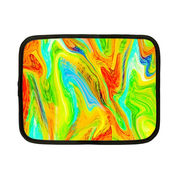 Happy Multicolor Painting Netbook Case (Small)