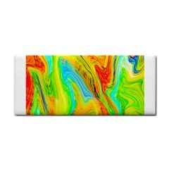 Happy Multicolor Painting Hand Towel