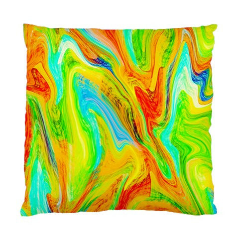 Happy Multicolor Painting Standard Cushion Case (Two Sides)