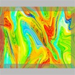 Happy Multicolor Painting Canvas 14  x 11  14  x 11  x 0.875  Stretched Canvas