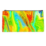 Happy Multicolor Painting Pencil Cases Front