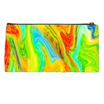 Happy Multicolor Painting Pencil Cases Back