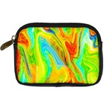 Happy Multicolor Painting Digital Camera Cases Front