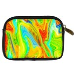 Happy Multicolor Painting Digital Camera Cases Back