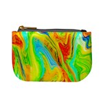 Happy Multicolor Painting Mini Coin Purses Front