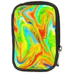 Happy Multicolor Painting Compact Camera Cases