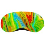 Happy Multicolor Painting Sleeping Masks Front